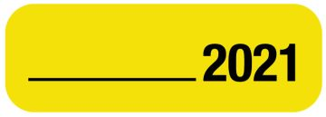 2021 X-Ray Date Label