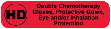 HD Double Chemo Gloves/Gown, Eye or Inhalation Protection