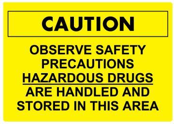 "HD Warning Sign, 10"" x 7"""