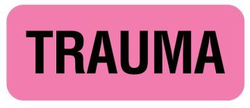 """TRAUMA Label, 2-1/4"""" x 7/8"""""""