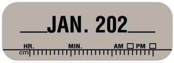 "X-Ray Date Label Jan 202__, 1-1/2"" x 1/2"""