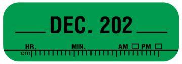 "X-Ray Date Label Dec 202__, 1-1/2"" x 1/2"""