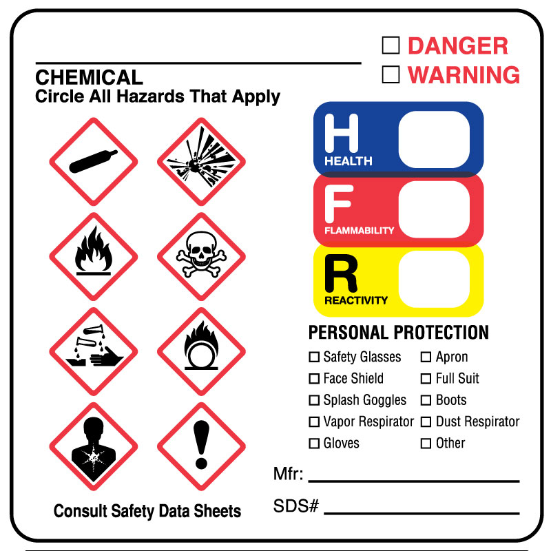 ghs hazard label 2 1 2 x 2 1 2 united ad label