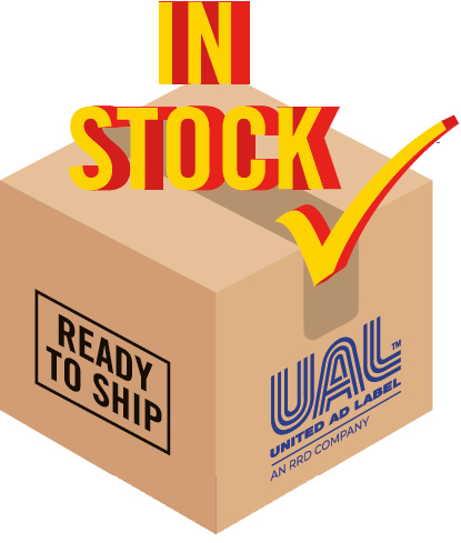 Labels are always in stock at UAL